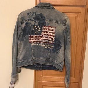 Polo Ralph Lauren Jean jacket M medium designer