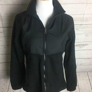 Columbia interchange black jacket fleece medium
