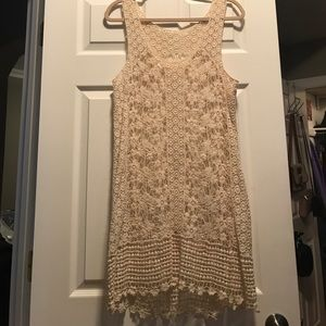 Beautiful crocheted dress - Unbranded - size S/M