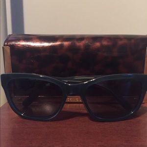 Tory Burch Fountain blue sunglasses