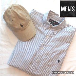 ⭐️Men's Sale⭐️Ralph Lauren classic stripe shirt