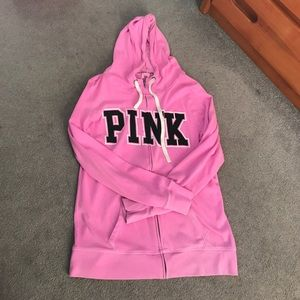 VS Pink Zip-up jacket