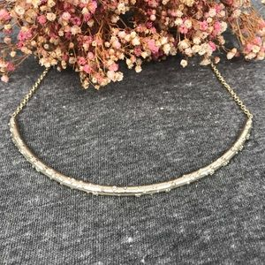 NWT Kendra Scott Amber Gold Choker Necklace