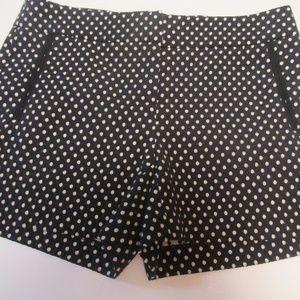 Cynthia Rowley Size 4 Polka Dot Shorts