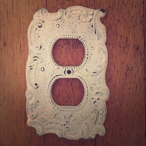 Anthropologie wall plate