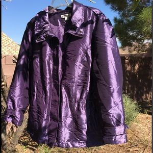 Coldwater Creek Iridescent Insulted Coat