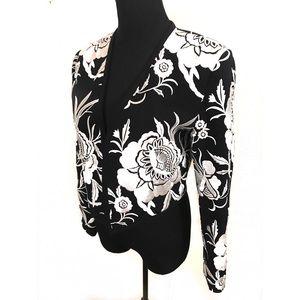Gorgeous vintage embroidered bolero jacket