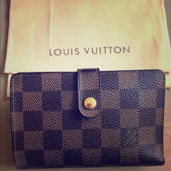 45ba3f2ed7ab Louis Vuitton Handbags - 💋LV Damier Ebene French Kiss-lock Wallet 💋