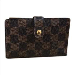 7cb046abda19 Louis Vuitton Bags - 💋LV Damier Ebene French Kiss-lock Wallet 💋