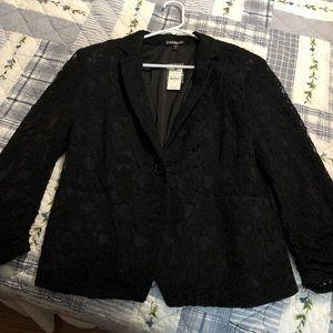 Express lace blazer NWT