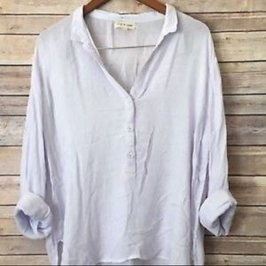 Anthropologie lilic stone and cloth blouse