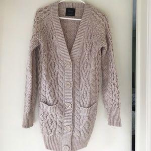 Zara Cardigan Button Up Sweater