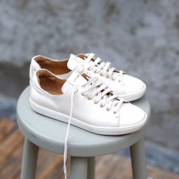 b8f39560776ff1 Sézane Jack Sneakers in Ecru. M_59e91f2a2fd0b761e5001ecf
