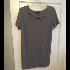 Zara woman gray mini dress