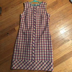 Boden tweed dress.