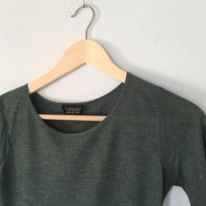 Topshop Olive Dress Sz 4