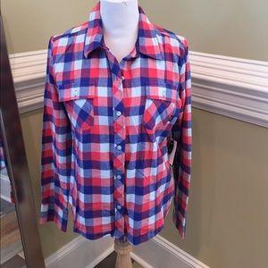 NWT Vans Flannel Shirt XL