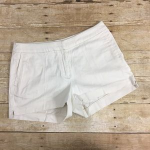 H&M Sz 6 Off White Dress Shorts