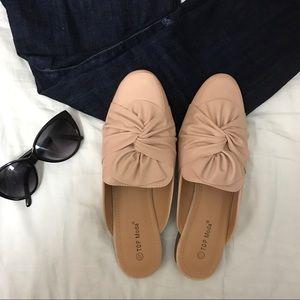 Shoes - Blush pink mules
