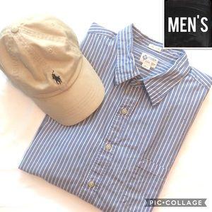 ⭐️Men's Sale⭐️ J Crew striped button down shirt