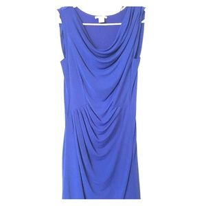 H&M stretchy royal blue dress