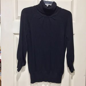 Express black 3/4 sweater