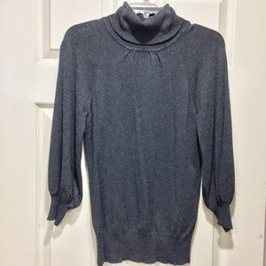 Express grey 3/4 sweater
