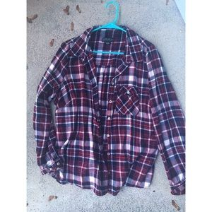 🍁🍂F21 Oversized Flannel