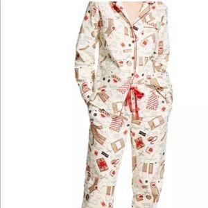 NWT Nick & Nora Flannel Pajama Set