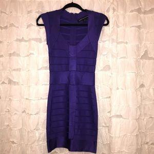 French Connection Bandage Dress - Purple