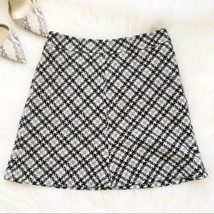 LOFT petite tweed skirt