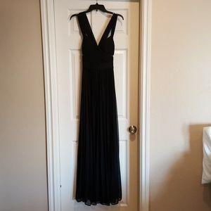 Black Aqua Gown Size 6