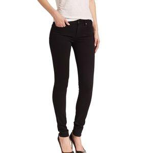 Paige Verdugo Ultra Skinny Jeans Black 28