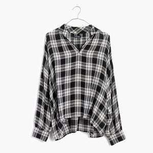 Madewell High-Road Popover Shirt