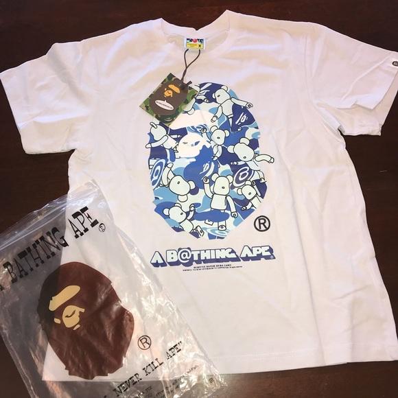 8bfb7c59 Supreme Shirts | A Bathing Ape X Bearbrick Collab Tee Shirt | Poshmark