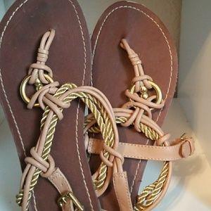 Strappy flip flop sandles 7