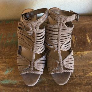 Vince Camuto JANIL sandal taupe sz 8