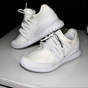Adidas tubular radial tennis shoes
