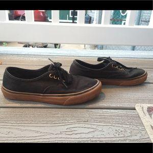 Vans Oeillet D'or Noir Gumsole yYosHWy5