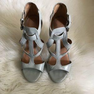 L.A.M.B Light Blue Heels (size 7.5)