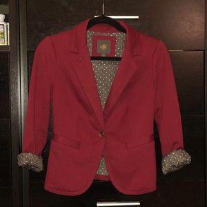 The Limited brick red blazer