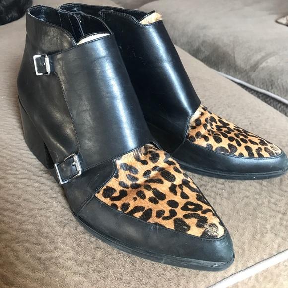 9e7970ada0f3 Circus by Sam Edelman Shoes - Circus Sam Edelman Reese calf hair boots ankle