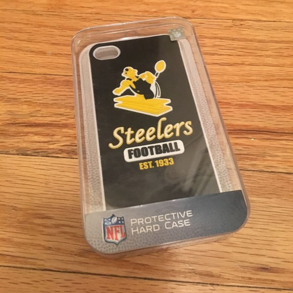 wholesale dealer f1b70 16fe2 Pittsburgh Steelers Cell Phone Case -iPhone 4
