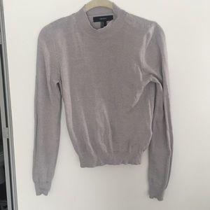 Forever 21 Crewneck Sweater - Grey - Size Medium