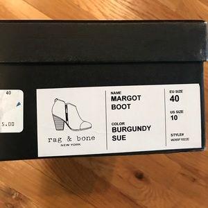 Rag & Bone Margot Burgundy Bootie for Fall!