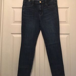 American Eagle dark wash hi-rise jegging sz 12P