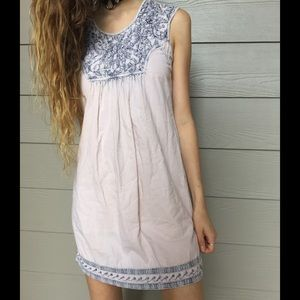 Nude Eastern Mini Dress
