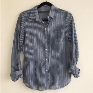 Zara TRF button down shirt