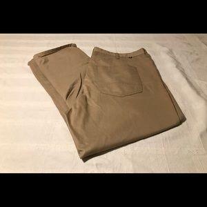 Nautica Straight Fit Chino Tan Pants. 40x30