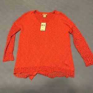 Lucky Brand Coral Sweater
